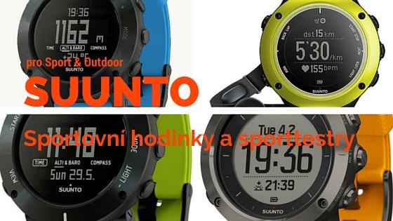 Sportovní hodinky a sporttestry