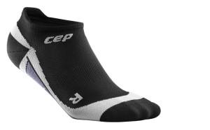 CEP Nízké ponožky pánské černá - šedá