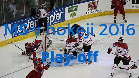 Play-off Mistrovství světa v hokeji 2016 v Rusku