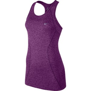 NIKE DRI-FIT KNIT TANK BRIGHT GRAPE