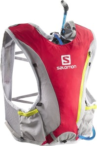 SALOMON SKIN PRO 3 HYDRATION BACKPACK SET BRIGHT RED