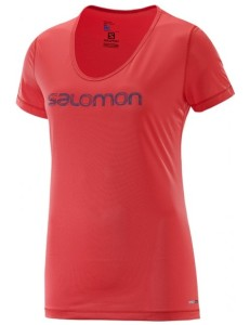 Salomon Mazy Graphic SS TEE W Infrared M