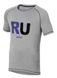 ODLO RUNNING T-SHIRT RAPTOR GREY MELANGE