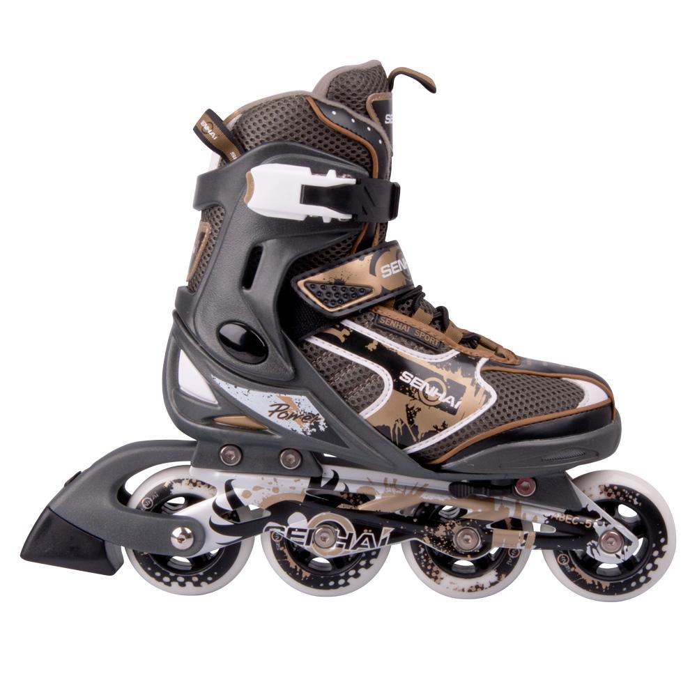 c33975b62da Dětské kolečkové brusle WORKER TriGo Skate LED - se sv. kolečky ...