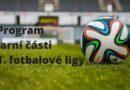Program jarní části 1. fotbalové ligy