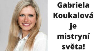Gabriela Koukalová má zlato!