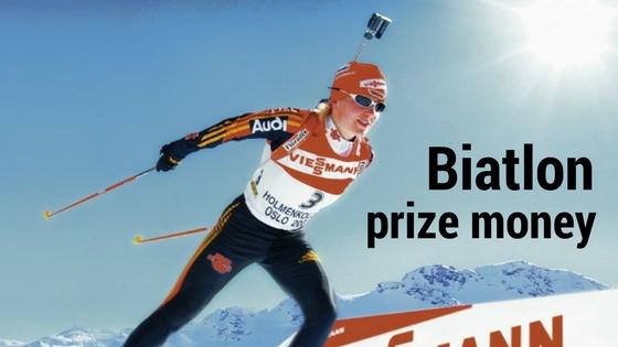 Biatlon – prize money