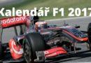 Formule 1 – Kalendář Grand Prix F1 pro rok 2017