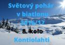 Kontiolahti  – Světový pohár v biatlonu 2016/17 – 8. kolo