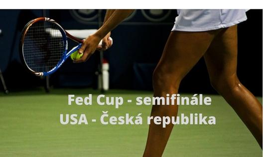 Semifinále Fed Cupu v USA zahájí Vondroušová