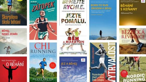 knihy o běhání