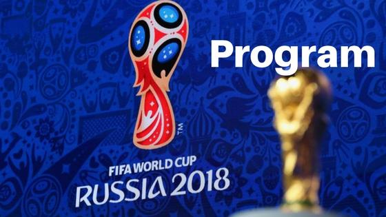 Program Mistrovství světa ve fotbale 2018