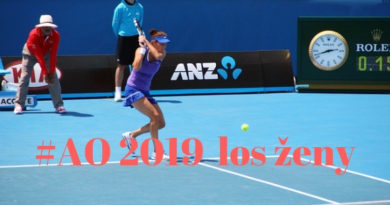Los ženské dvouhry tenisového Australian Open 2019