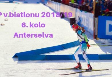 6. kolo světového poháru v biatlonu – Anterselva