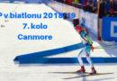 7. kolo světového poháru v biatlonu – Canmore, Kanada