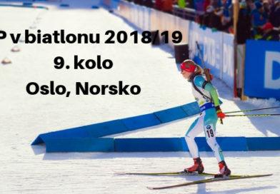 9. kolo světového poháru v biatlonu, Oslo, Norsko