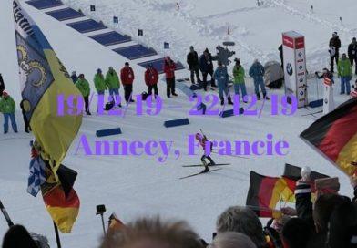 Světový pohár v biatlonu – 3.kolo – Le Grand-Bornand – Anneey, Francie
