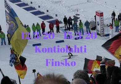 Světový pohár v biatlonu – 9.kolo – Kontiolahti, Finsko